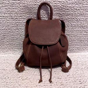 Coach Rare Vintage Sonoma Nubuc Backpack 4938